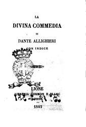 La Divina Commedia con indice Dante Alighieri