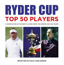 Ryder Cup Top 50 Players