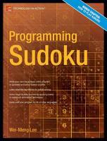 Programming Sudoku PDF