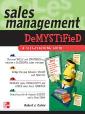Sales Management Demystified