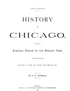 History of Chicago  From 1857 until the fire of 1871 PDF