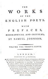The Works of the English Poets: With Prefaces, Biographical and Critical, Volume 39