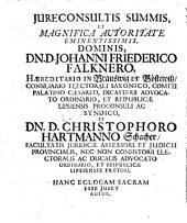 M. Georgii Henrici Goezii ... Amoenitatum iuris divini ecloga
