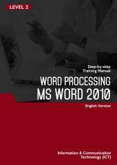 MS WORD 2010 (Level 2)