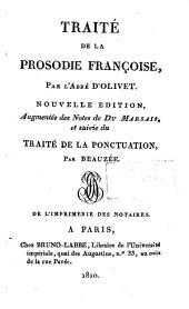 Traité de la prosodie françoise