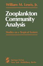 Zooplankton Community Analysis