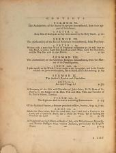 The Truth and Safety of the Christian Religion Deduced from Reason and Revelation: A Series of Sermons Preached at Kew and Petersham in the Years 1773 and 1774
