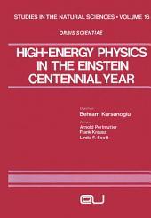 High-Energy Physics in the Einstein Centennial Year