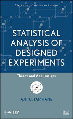 Statistical Analysis of Designed Experiments PDF