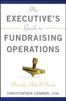 An Executive s Guide to Fundraising Operations PDF