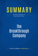 Summary: The Breakthrough Company