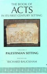 The Book Of Acts Ain Its Palestinian Setting Book PDF