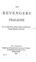 The revengers tragaedie  The transformed metamorphosis PDF