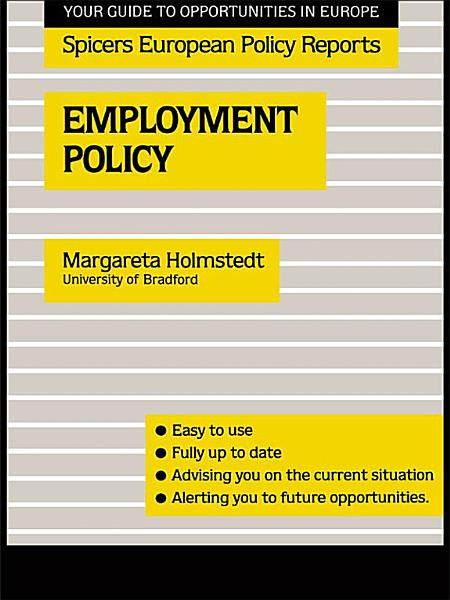 Download Employment Policy Book