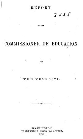 Annual Report of the Commissioner of Education PDF