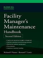 Facility Manager s Maintenance Handbook PDF