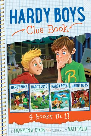 Hardy Boys Clue Book 4 books in 1  PDF