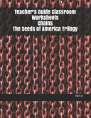 Teacher s Guide Classroom Worksheets Chains The Seeds of America Trilogy PDF