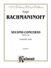 Piano Concerto No. 2, Opus 18: Full Orchestra (Miniature Score)