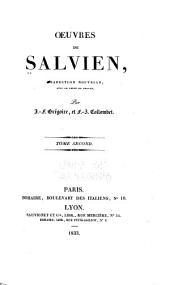 Oeuvres de Salvien: Volume2