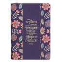Journal Classic Navy Floral I Know the Plans