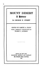 Mount Desert: A History