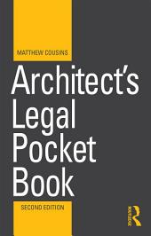 Architect's Legal Pocket Book: Edition 2