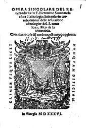 Opera singulare contra l'astrologia divinatrice