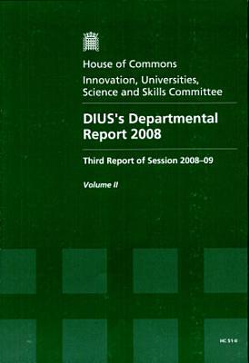 DIUS s Departmental Report 2008 PDF