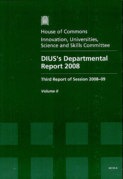 Diuss Departmental Report 2008