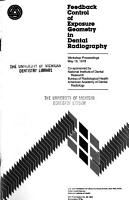 Feedback Control of Exposure Geometry in Dental Radiography PDF
