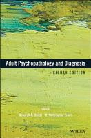 Adult Psychopathology and Diagnosis PDF