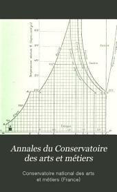 Annales du Conservatoire des arts et métiers: Volumes2à3