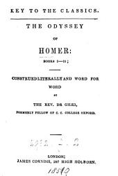 The Odyssey: books i-ii; construed literally and word for word by dr. Giles