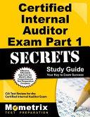 Certified Internal Auditor Exam Part 1 Secrets Study Guide PDF