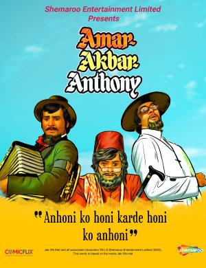 Amar Akbar Anthony Comics