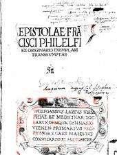 Epistolae ... Ex Originario Exemplari Transsumptae