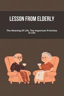 Lesson From Elderly