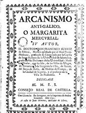 Arcanismo anti-galico o margarita mercurial