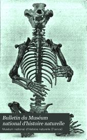 Bulletin du Muséum national d'histoire naturelle: Volume11
