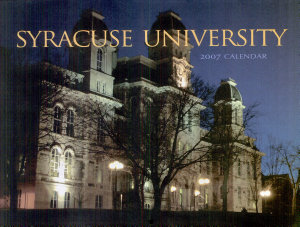 Syracuse University 2007 Calendar PDF