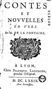 Contes et nouvelles en vers de M. de La Fontaine