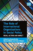 The Role of International Organizations in Social Policy PDF