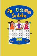 Kids Sudoku 500  Easy to Hard PDF