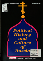 Political History and Culture of Russia PDF