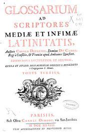 Glossarium ad scriptores mediae et infimae latinitatis: E-K