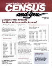 Census and you: monthly news from the U.S. Bureau of the Census, Volume 30, Issue 6