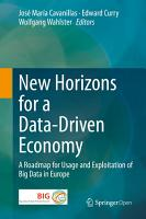 New Horizons for a Data Driven Economy PDF