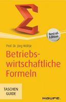 Betriebswirtschaftliche Formeln PDF