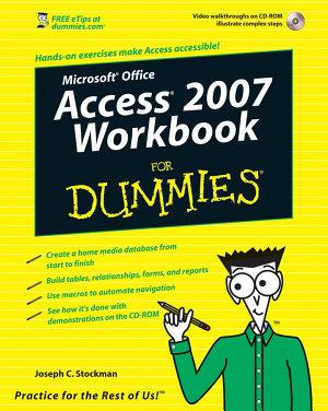 Access 2007 Workbook For Dummies PDF